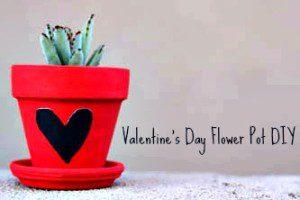 Valentine's Day Flower Pot DIY