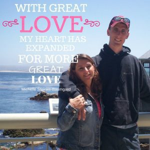 With great love my heart has expanded to allow for more great love