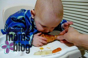 Baby-Led Weaning :: Introducing Solids to Baby from Albuquerque Moms Blog