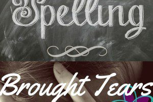 Spelling Brought Tears from Albuquerque Moms Blog