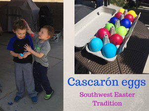 Cascarón eggs