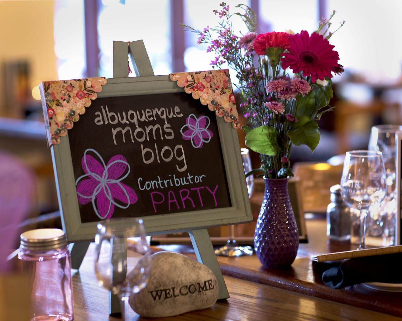 Albuquerque Moms Blog Contributor Party