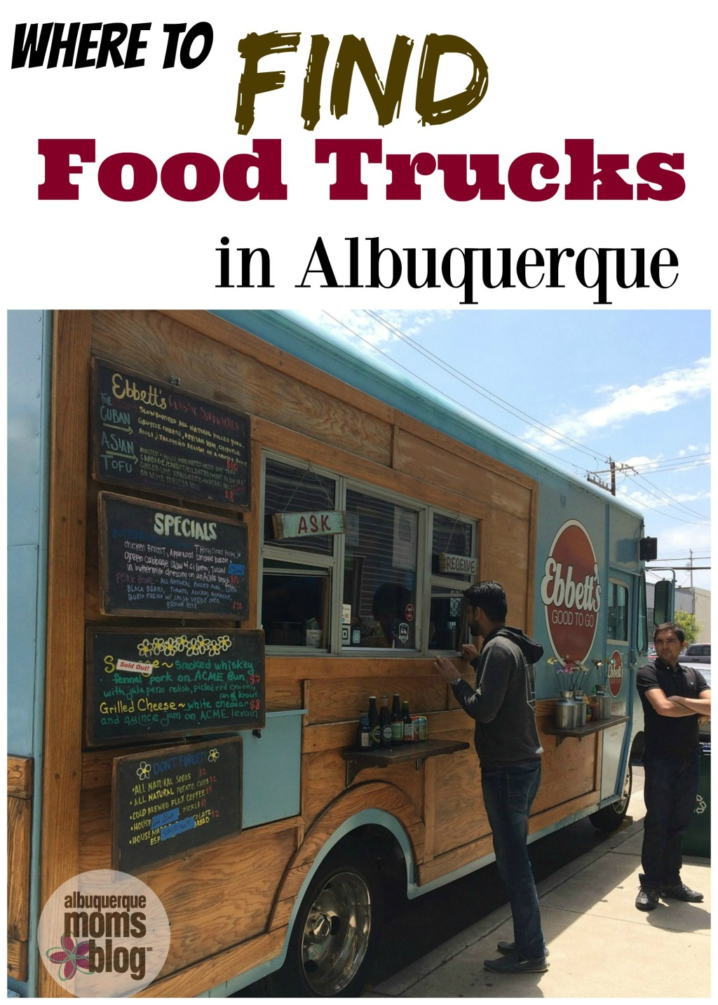 Where to Find Food Trucks in Albuquerque from Albuquerque Mom's Blog
