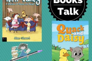 Books Talk: Cooking in Fern Valley & Quack and Daisy from Albuquerque Moms Blog