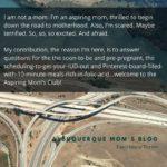 Aspiring Mom: Planning Pregnancy in Albuquerque