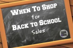 When to shop for back to school sales from albuquerque moms blog