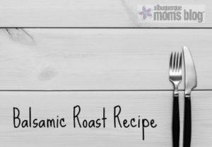 balsamic roast recipe