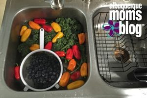 wash produce ABQMomsBlog