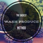 Wash Produce All at Once in the Sink — the easiest method I know