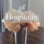 The Heart of Hospitality: the Ministry of the Encouraging Play Date