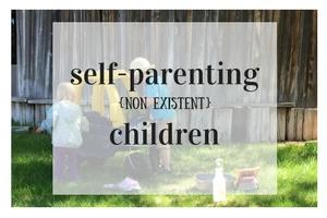 Parenting- My {non existent} self-parenting children. From Albuquerque Moms Blog