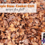Simple Slow-Cooker Chili Recipe for Fall
