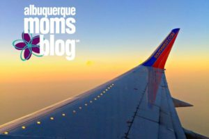 Baby on an Airplane :: Three Things I Learned on Baby's First Flight from Albuquerque Moms Blog