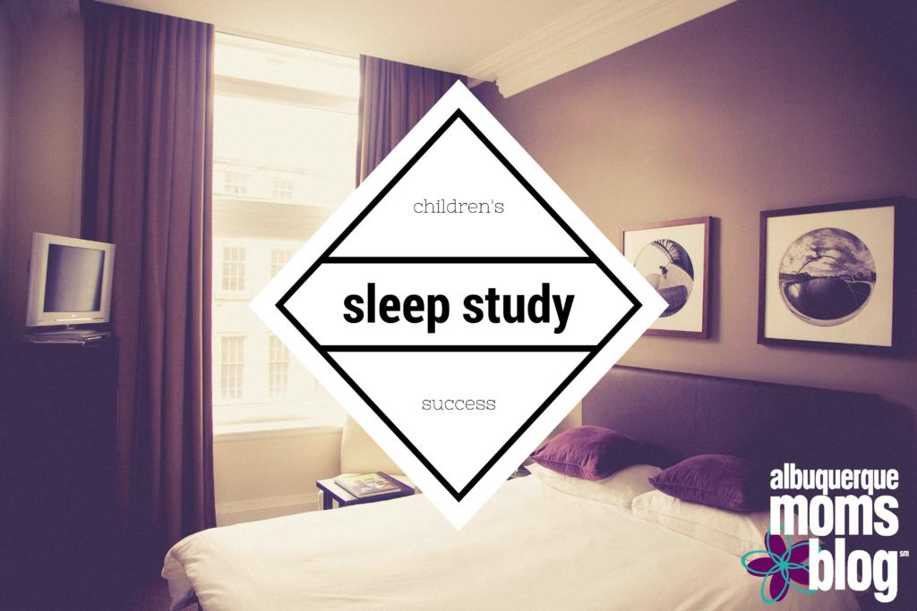 childrens sleep study albuquerque moms blog