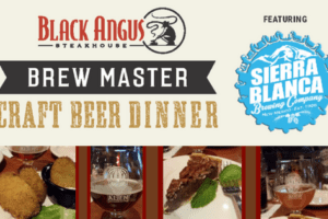 black-angus beer pairing Albuquerque moms blog