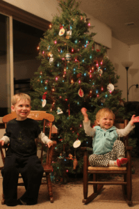 advent Truth in the Tinsel Christmas Tree. Albuquerque Moms Blog.