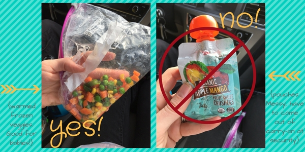 carry on food ideas from Albuquerque Moms Blog