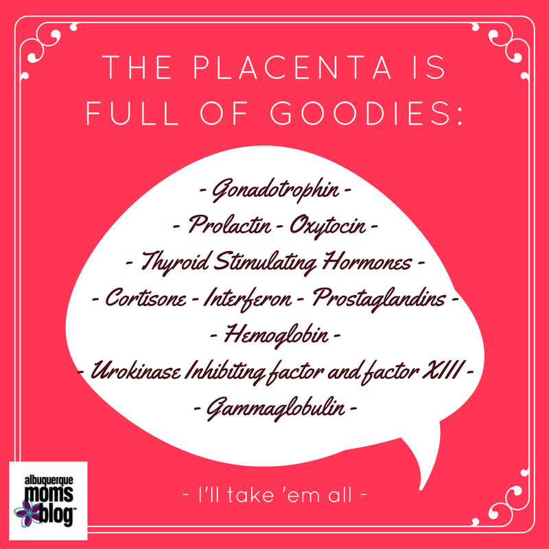 Placenta Ingestion: It's less gross than it sounds from Albuquerque Mom's Blog