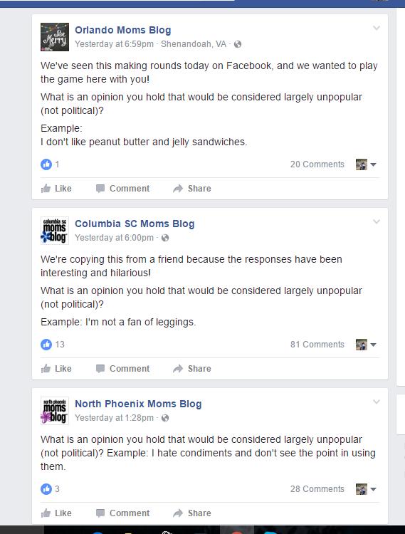 Fanny Packs trends; Facebook question albuquerque moms blog