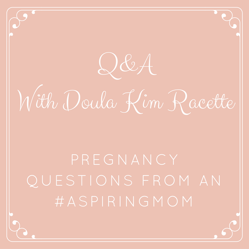 Q&A with kim racette pregnancy questions from an #aspiringmom from Albuquerque Mom's Blog