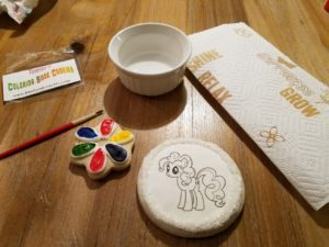 Coloring Book Cookie Kit