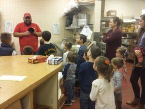 ABQ moms blog Dion's pizza tour