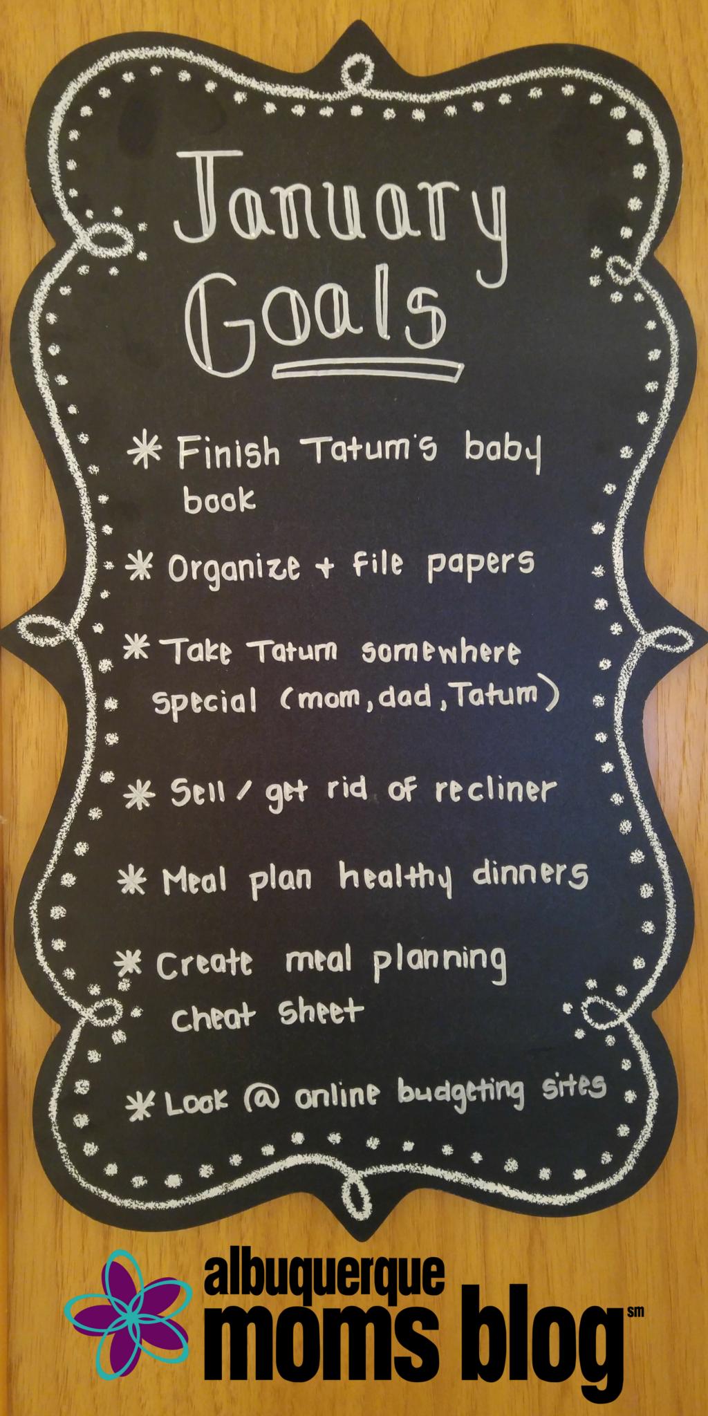 Monthly-Goals-Board-Albuquerque-Moms-Blog