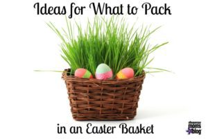 Ideas for What to Pack in an Easter Basket from Albuquerque Mom's Blog