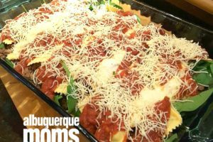 One Pan Italian Sausage and Pasta Casserole :: Easy Weeknight Dinner from Albuquerque Moms Blog