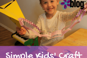 Kids Craft Paper Kite Albuquerque Moms Blog