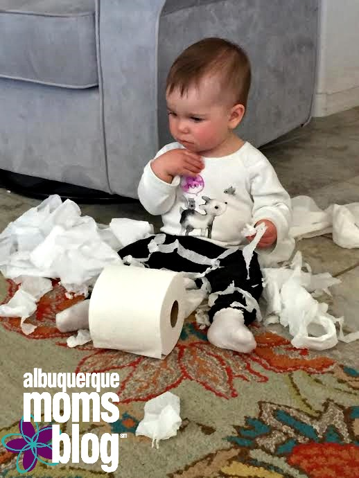 Baby Hacks::Keeping Baby Busy and Momma Happy from Albuquerque Moms Blog