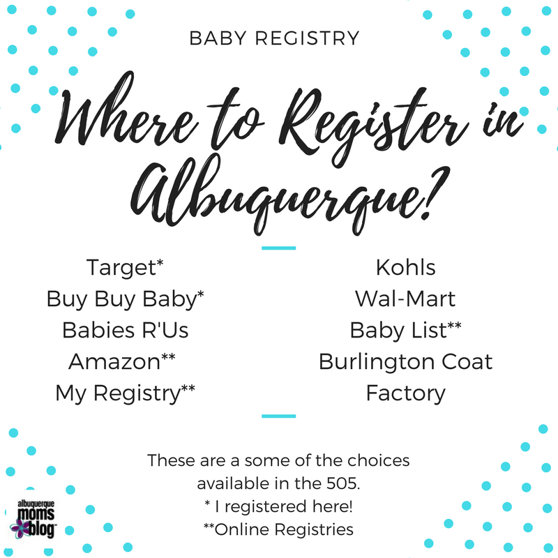 Baby Registry: Top Ten Things I'll Need For My First Baby from Albuquerque Mom's Blog