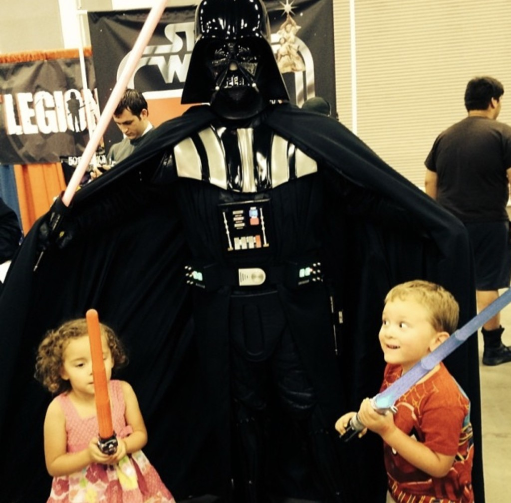 Darth Vader & Twins