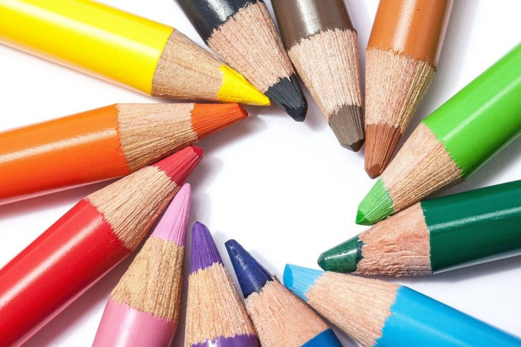 colored pencils coloring