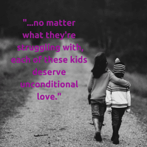 Foster Care Unconditional love. Albuquerque moms blog.