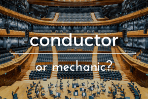 conductor or mechanic. seeing kids as individuals. ABQ moms Blog.