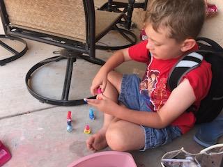 Nails by Lukas, Albuquerque Mom's Blog