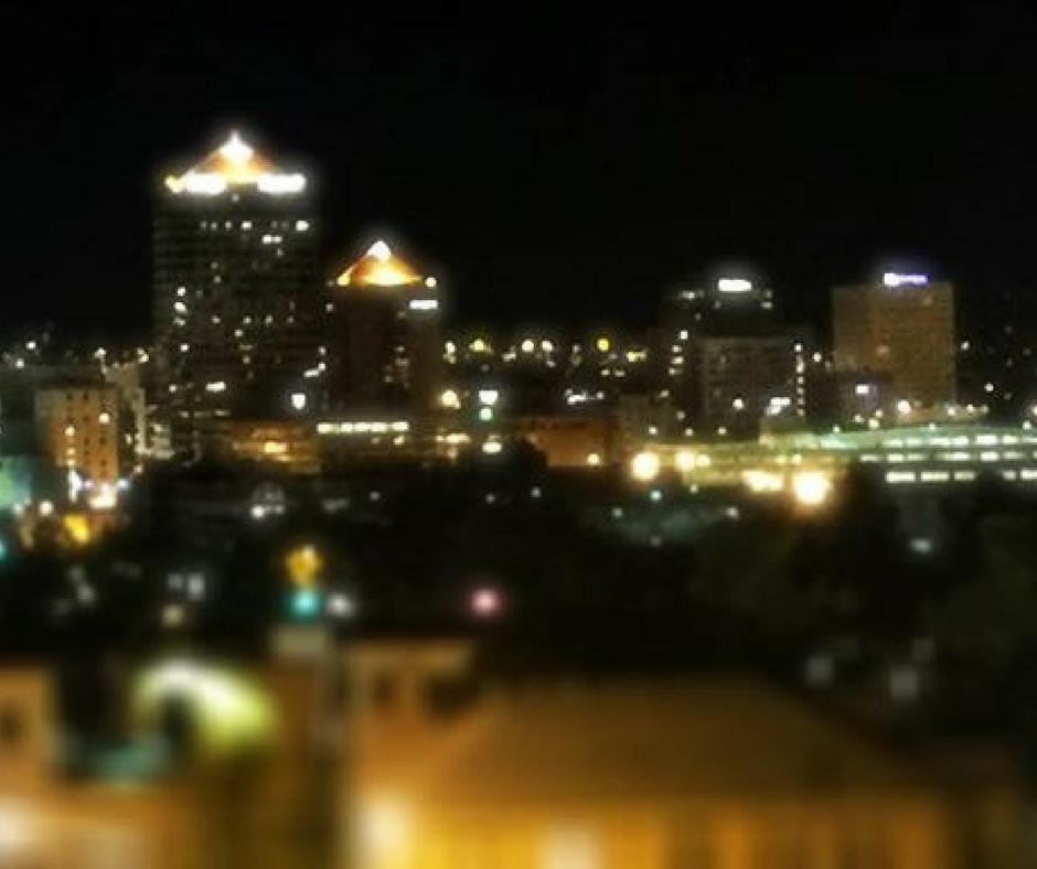 Rooftop bars restaurants Albuquerque