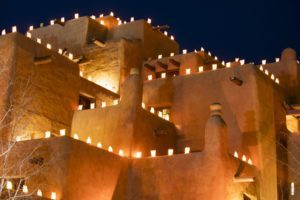 Where to see luminarias in Albuquerque