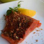 Bar B Q Salmon