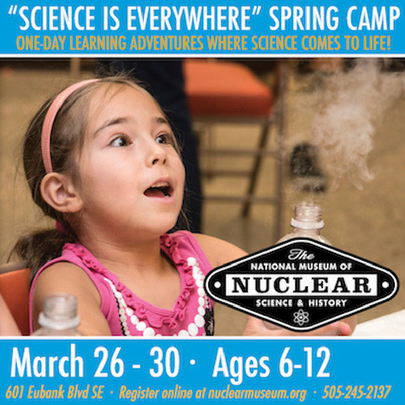 national museum of national science spring break camp