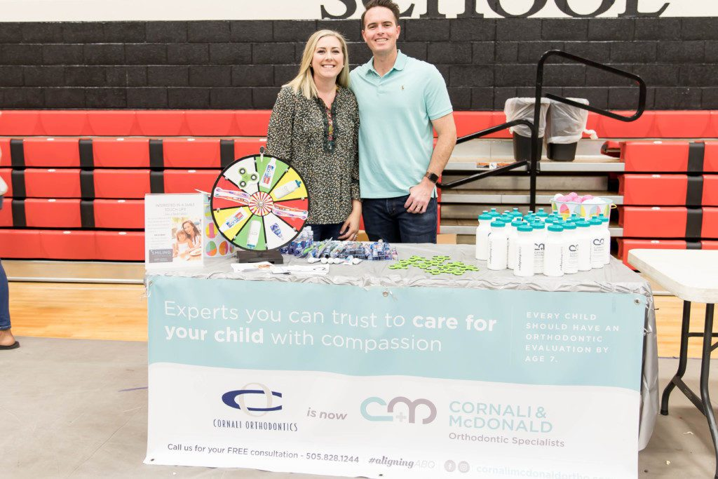 Albuquerque Moms Blog Easter Egg Hunt at Menaul School sponsored by Cornali & McDonald Orthodontic Specialists