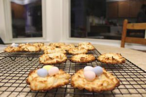 birds' nest cookies, albuquerque moms blog, easter cookies, easter treat, easter dessert, spring dessert, spring cookie