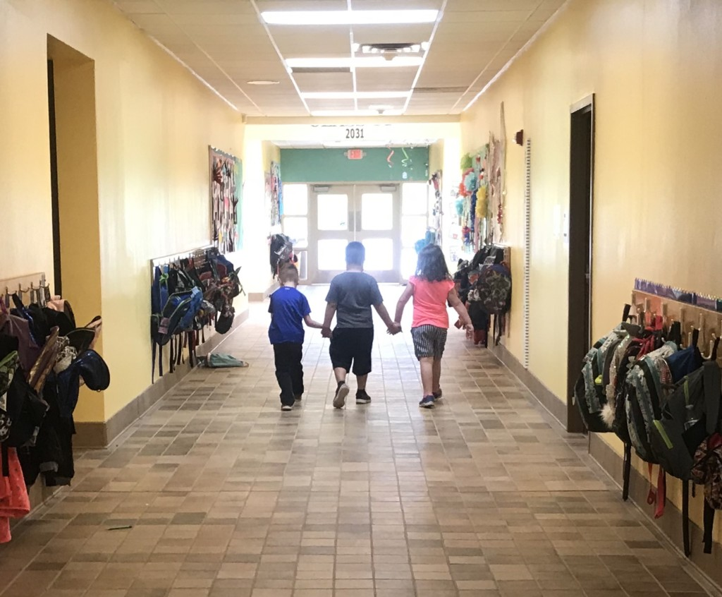 School Hallway, Albuquerque Mom's Blog