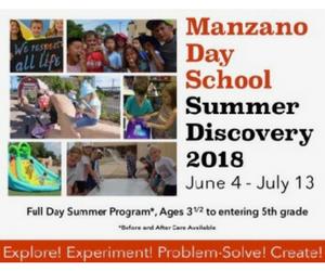 Manzano Day Summer Discovery