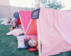 Diy Tent For Indoor Outdoor Camping Fun