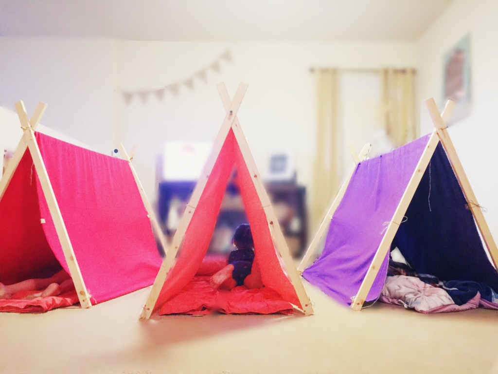 DIY Tent for Indoor/Outdoor Camping Fun from Albuquerque Moms Blog