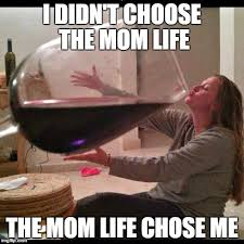 Why I'm Tired of All The Wine Mom Memes from Albuquerque Moms Blog