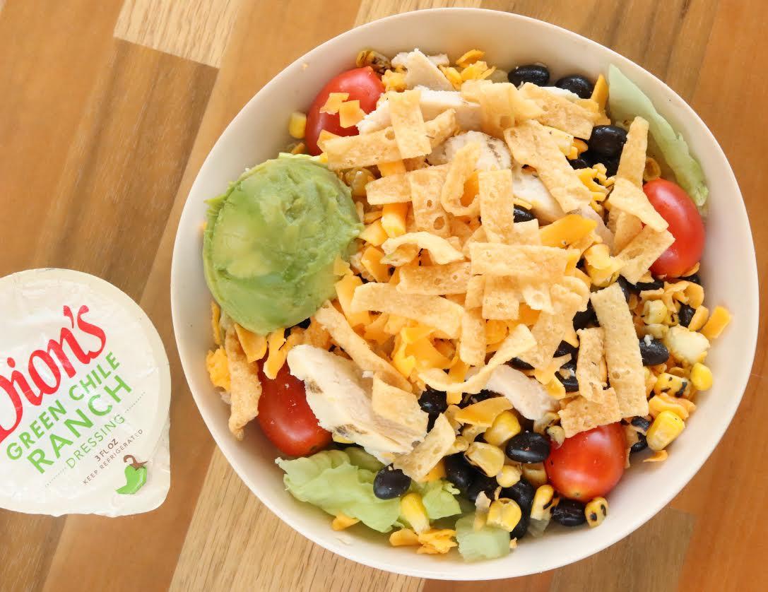 Dion's Southwest Chicken Salad, Southwest Chicken Salad, albuquerque, albuquerque moms blog, dion's, dion's salads