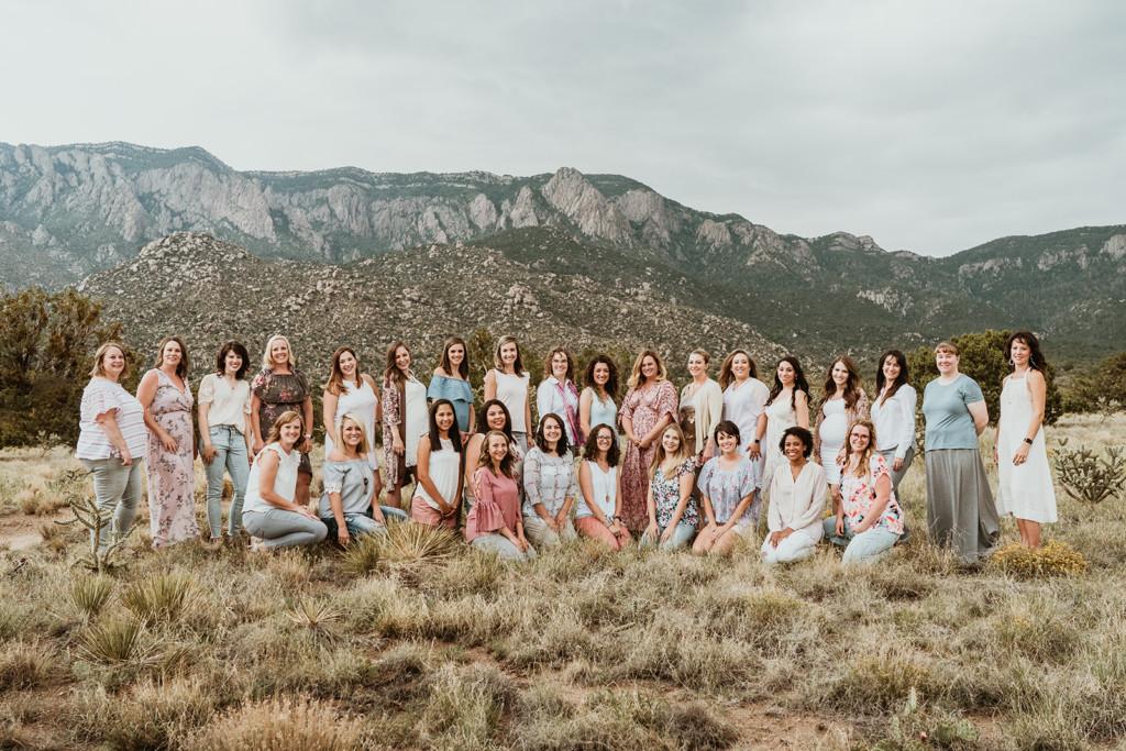 Albuquerque Moms Blog team 2018   Segura Family Shooters